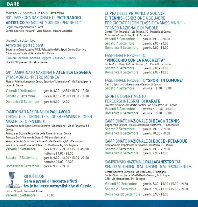 Verde Azzurro, locandina 2019 pag. 2
