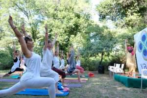 YAMM Festival, esercizi al Parco Naturale - Ph. Gianluca Iacopini