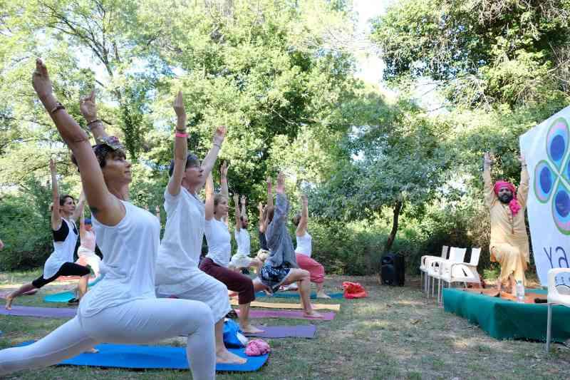 YAMM Festival, esercizi al Parco Naturale - Ph. Gianluca Jacopini