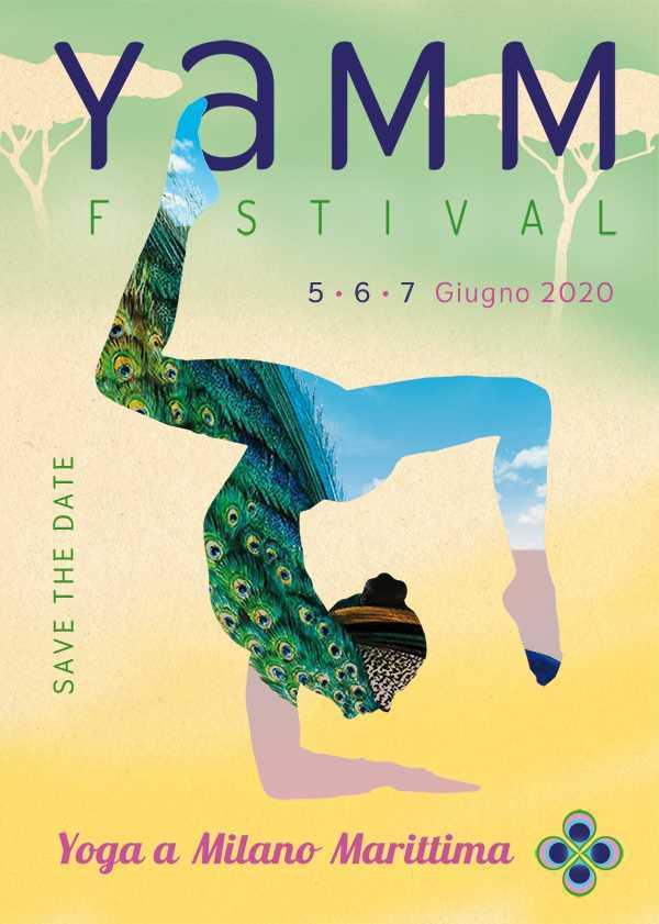 YAMM festival, locandina 2020 fronte