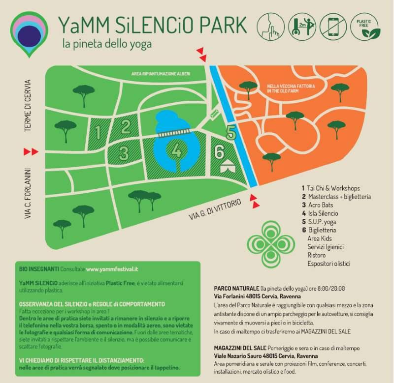 YAMM Festival, mappa luoghi dell'evento