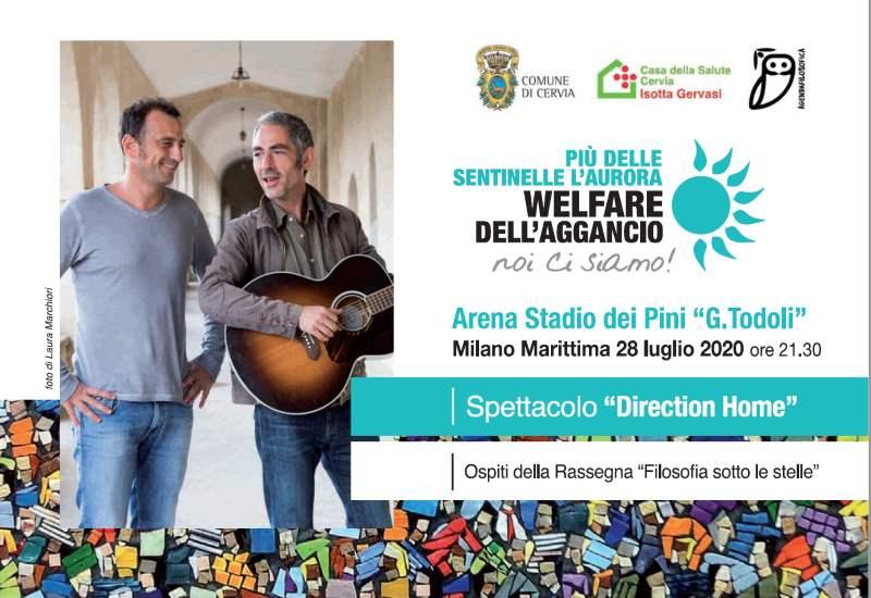 Home Direction - storia di Adriano Olivetti, cartolina