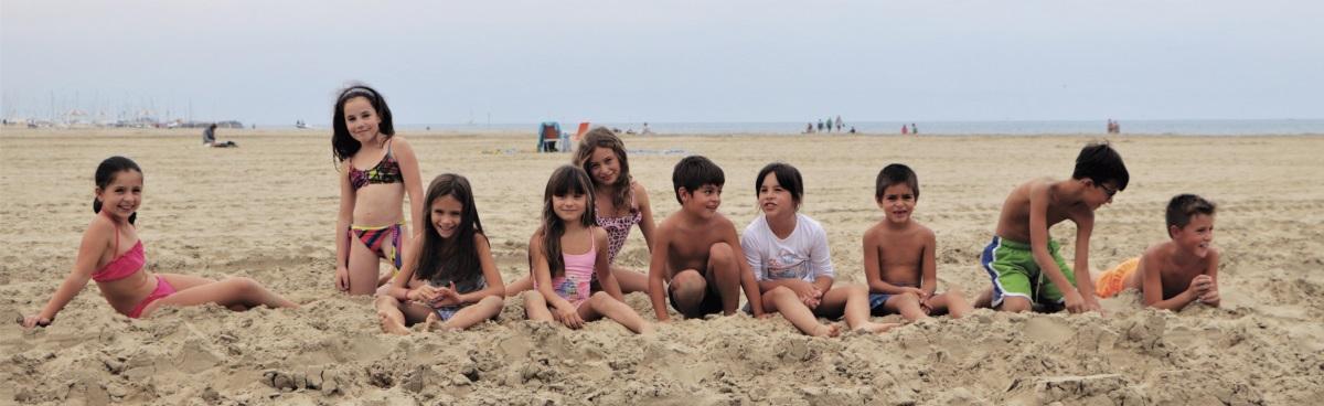 Bambini che giocano in spiaggia - Ph. Gruppo fotografico cervese