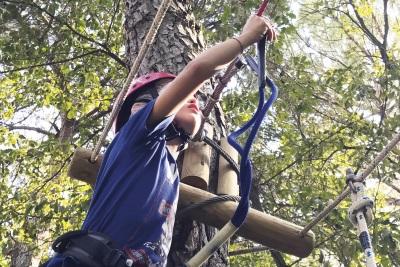 Un'arrampicata in sicurezza