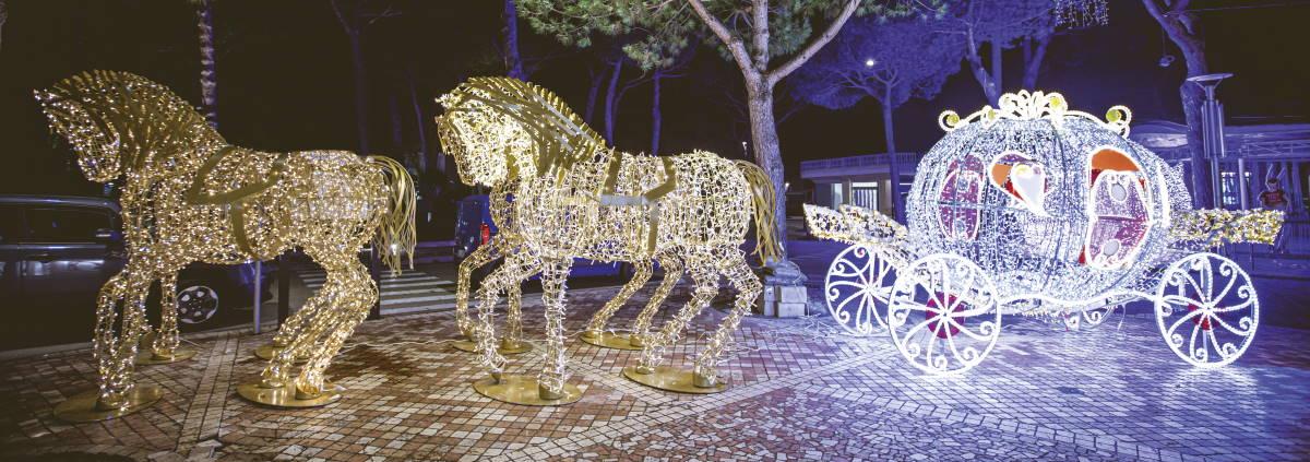 Carrozza con cavalli - Ph. Marco Anconelli Artimmagine