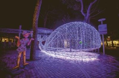Sculture di luci - Luci Balena - Ph. Marco Anconelli Artimmagine