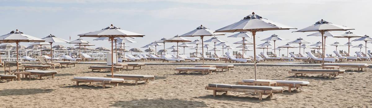 Spiaggia e ombrelloni - ph. Gruppo fotografico cervese