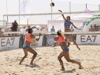 Sole, mare e gioia di vivere - Sport in spiaggia
