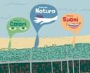 Parco dei bambini, diritto ai colori, natura, suoni