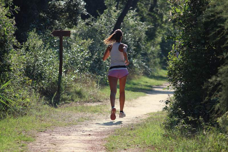Pineta di Milano Marittima, jogging - Ph. Francesco Benazzi