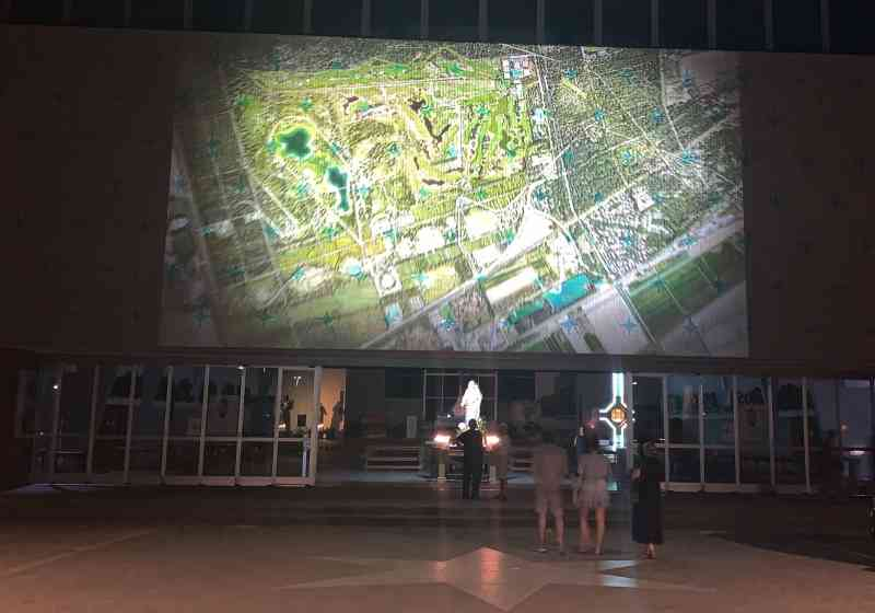 Parco Urbano, video mapping