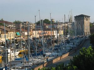 Borgo Marina by day