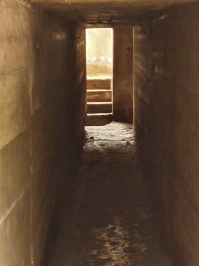 Bunker e denti di drago - interno del bunker