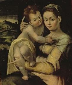 Painting Madonna della Neve