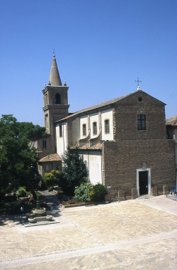 The exterior of the Cathedral