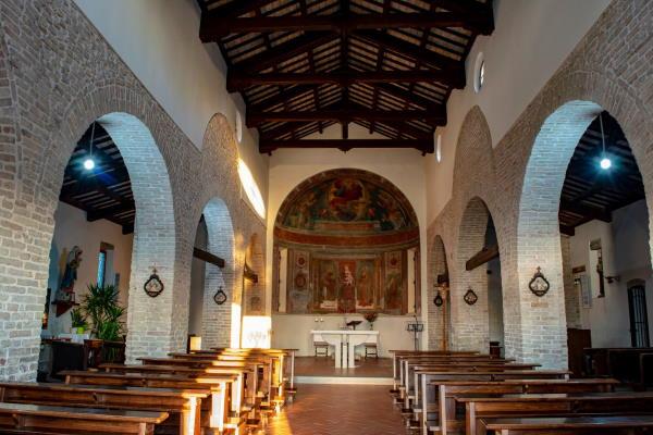 Interior of Pieve di S.Stefano, Pisignano - Ph. Alberto Bruno Arpini