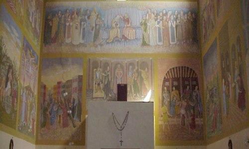 Riesposizione, Santuario della Madonna degli Angeli