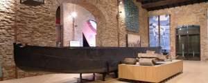 Musa, museo del sale, panoramica sala e burchiella