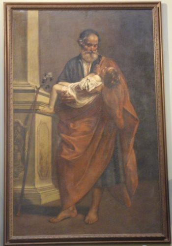 San Giuseppe col Bambino