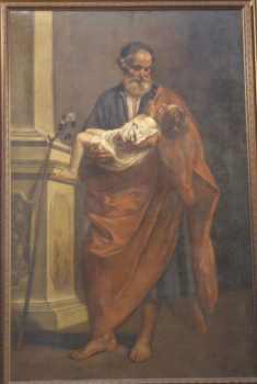 Quadro di San Giuseppe col bambino