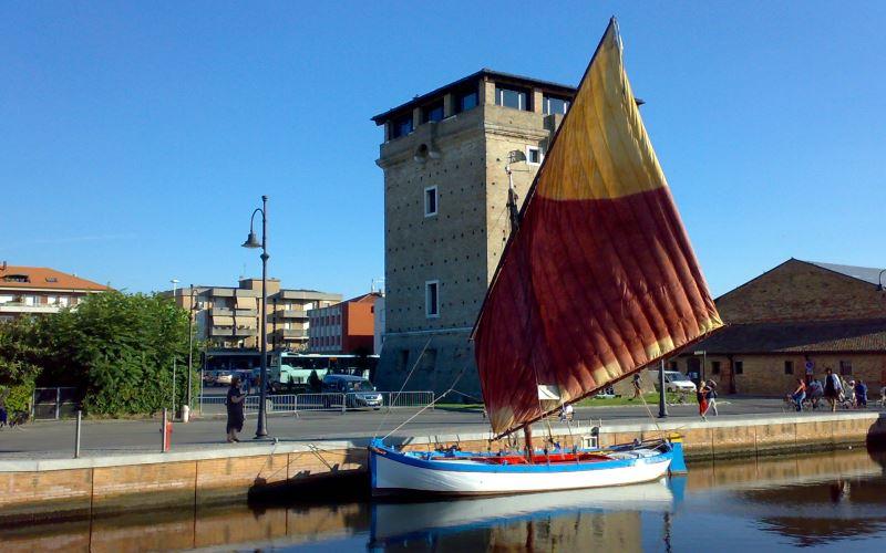 Barca Lancia Assunta, Cervia