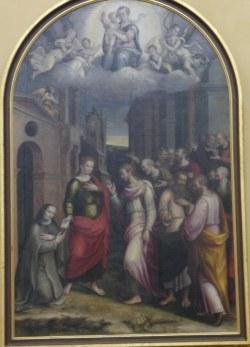 La Tavola della Beata Chiara di Rimini
