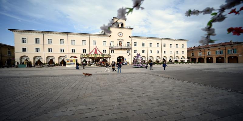 Platz Garibaldi, Cervia - Ph. Dany Fontana