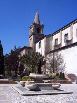 Der Brunnen und die Kathedrale, Piazza Garibaldi