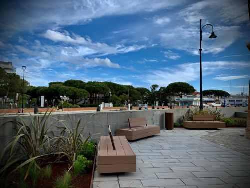 Faro, area arredata