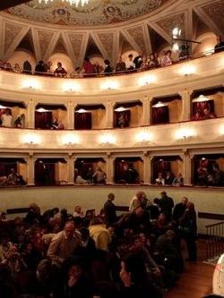 Interno del Teatro Comunale