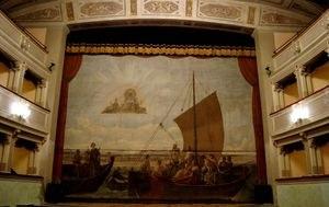 Velario, l'antico sipario del Teatro Comunale