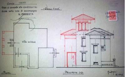 Progetto villa Maiolatesi