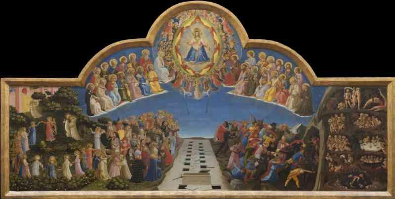 Dante. La visione dell'arte. Giudizio Finale, Beato Angelico