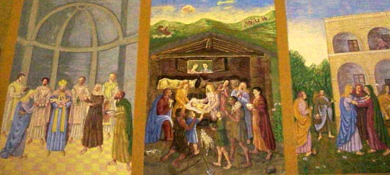 Cannuzzo - opere d'arte nel santuario