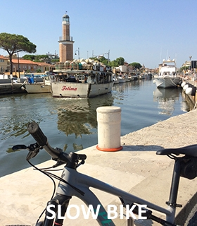 Cervia Bike Tourism, city trail