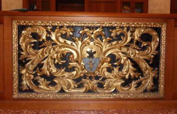 Paliotto decorato, Palazzo Comunale di Cervia