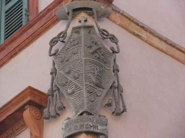 Stemma vescovile, Palazzo Vescovile di Cervia