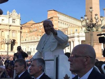 Il Cammino del Sale - Papa