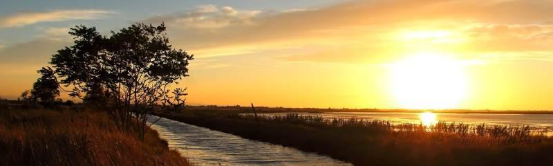 La salina al tramonto - Ph. Gruppo Fotografico Cervese