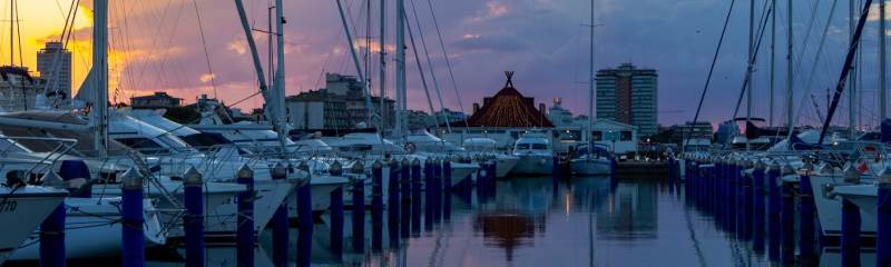 Tramonto sul porto - Ph. Gruppo Fotografico Cervese