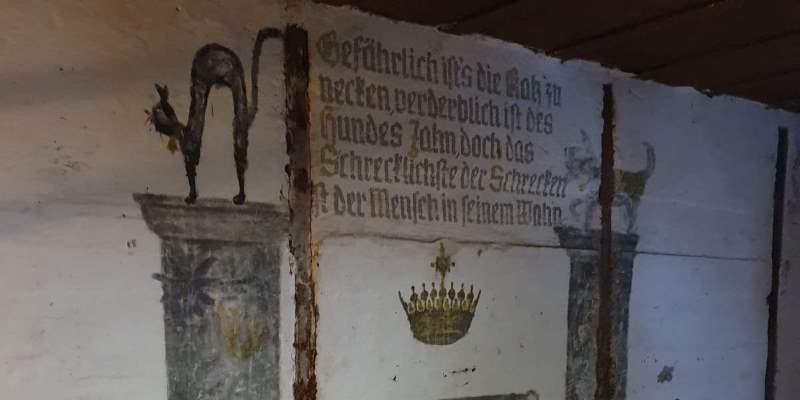 Visite guidate ai bunker - dipinto tedesco