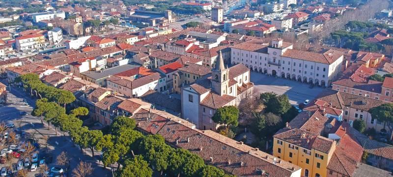 Il centro storico visto dall'alto