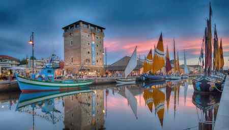 Porto canale e vele storiche - Ph. Angela Raggi