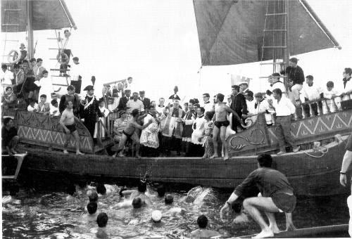 Foto storica Sposalizio del mare - Ph. Collezione Gabriele Bernabini