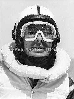 Rudy Neumann alla storica regata Pola-Cervia - Ph. Sante Crepaldi