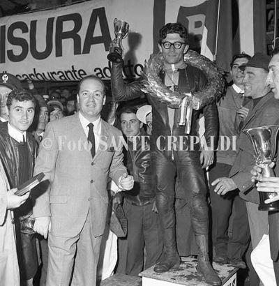 Renzo Pasolini vincitore - Ph. Sante Crepaldi