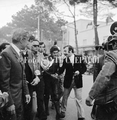 02 - Giacomo Agostini intervistato da Gianni Minà, ph. Sante Crepaldi - Ph. Sante Crepaldi