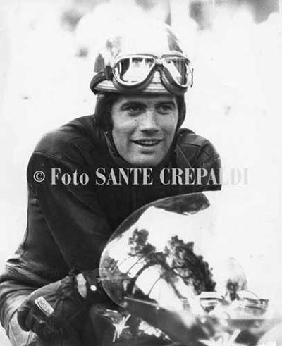 Primo piano di Giacomo Agostini - Ph. Sante Crepaldi