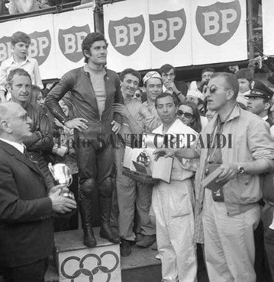 Premiazione Giacomo Agostini - Ph. Sante Crepaldi