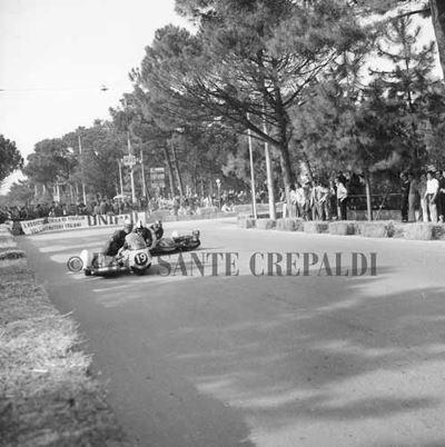 Sidecar in corsa - Ph. Sante Crepaldi